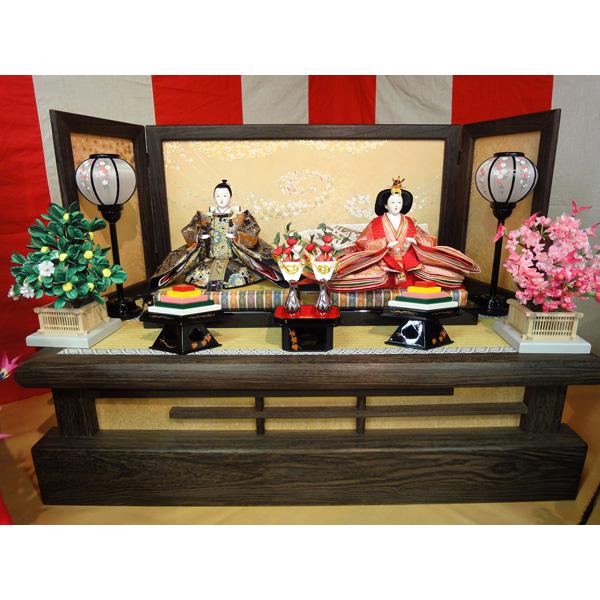 展示現品 雛人形 ひな人形 859 352111-12 衣裳着人形 桃の節句/ひな祭り/お雛様