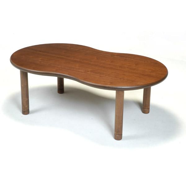 こたつ 変形 テーブル こたつ本体 こたつテーブル リビング テーブル 継ぎ足 高さ調節 継脚 モダン 国産 【マルシェ ウォールナット 120】 コタツ/炬燵