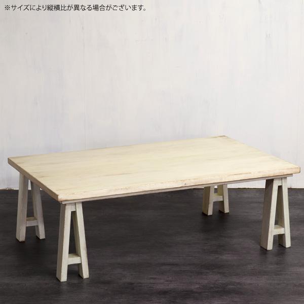 【期間限定1500円OFFクーポン】こたつ 白 ホワイト 長方形こたつ 【ワーカー 120 WH】 デザイン テーブル おしゃれな 日本製 コタツ 炬燵