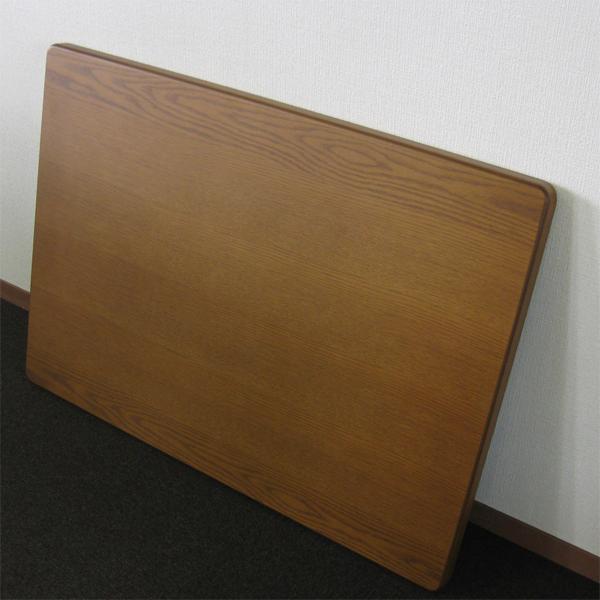 こたつ 天板 のみ 120×80 長方形 炬燵 木製 コタツ板・片面 ナラ 120