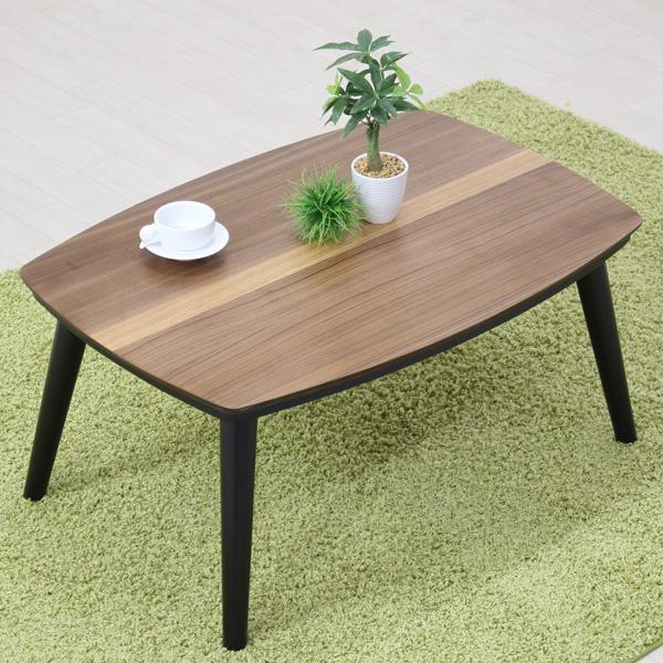 こたつテーブル 家具調こたつ 長方形 こたつ本体 小型 小さい こたつ リビングテーブル おしゃれ 小さめ 一人暮らし レビン2 80サイズ