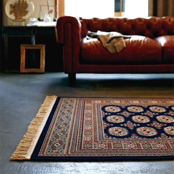 長方形 カーペット 絨毯 【MAHAL マハール】 ラグ/カーペット 約140×200cm ベルギー製 【送料無料】