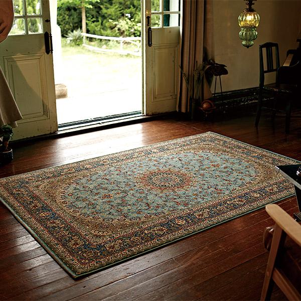 長方形 カーペット 絨毯 【HEREKE ヘレケ】 ラグ/カーペット 約75×120cm イラン製 【送料無料】