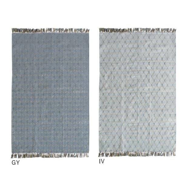 カーペット ラグ【Mari マリ】GY/IV 約190×240