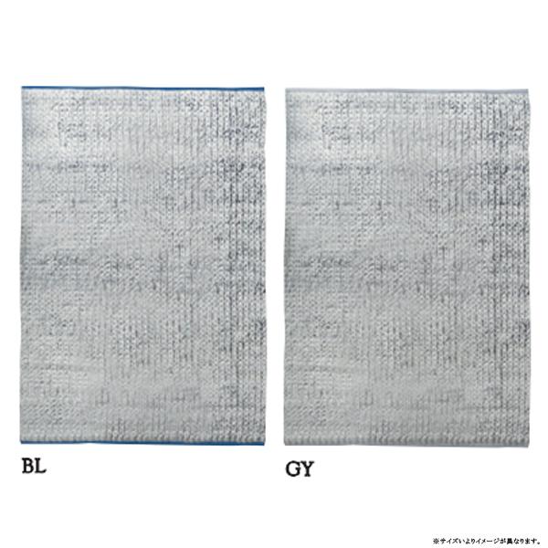 カーペット ラグ【RAJ-1812】BL/GY/約130×190