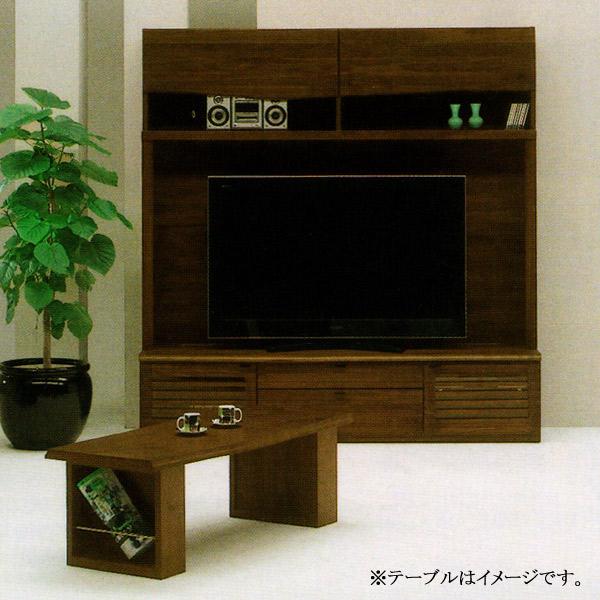 リビングボード テレビボード 【DAICHI 大地 180リビングボード WN色】ウォールナット ハイタイプ TVボード 【送料無料】