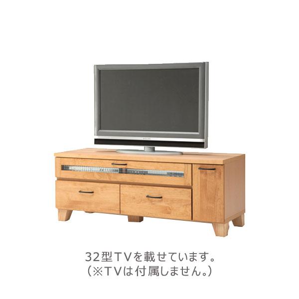 コルソ 120L TVボード テレビボード テレビ台 収納 リビング アルダー材を使用した温かみのあるTVボードです