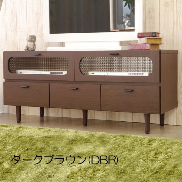 POOL(プール) 120 ローボード テレビボード テレビ台 レトロチックなデザイン おしゃれ/AV台/北欧/TVボード/TV台