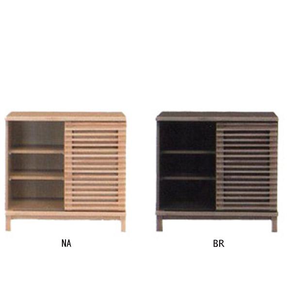 TV Stand AV Equipment Storage Width 80 Sideboard Slide Drawer Box Set With  Open Rail Oil