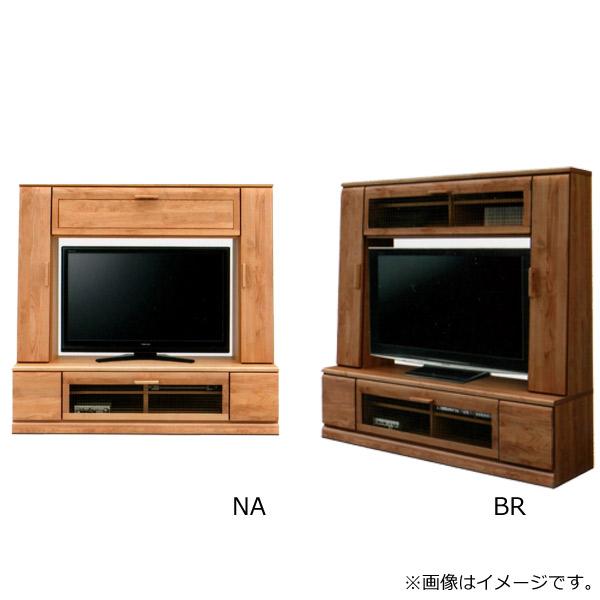 Fresco フレスコ【 フレスコ160TVボード(NA/板戸・BR/ガラス) 】テレビボード テレビ台 ハイタイプ 幅160