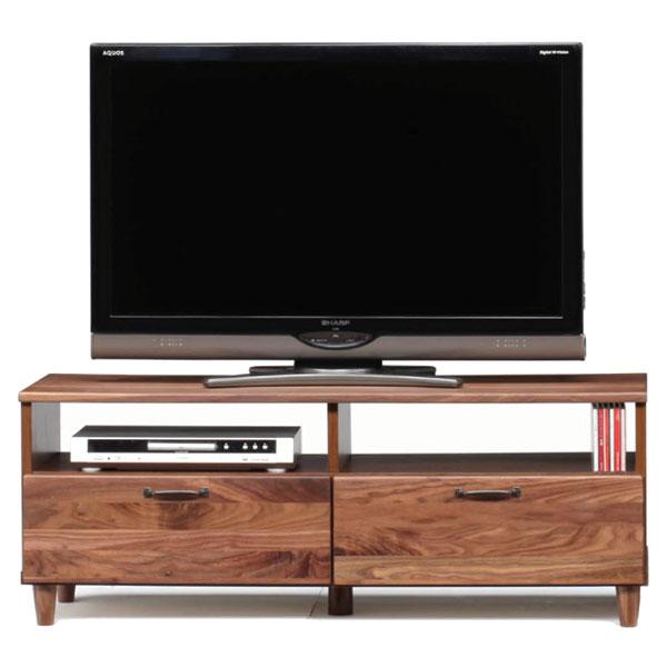 【数量限定】テレビボード ウォールナット無垢材 (ブルーノ 120TVボード)bruno walnut
