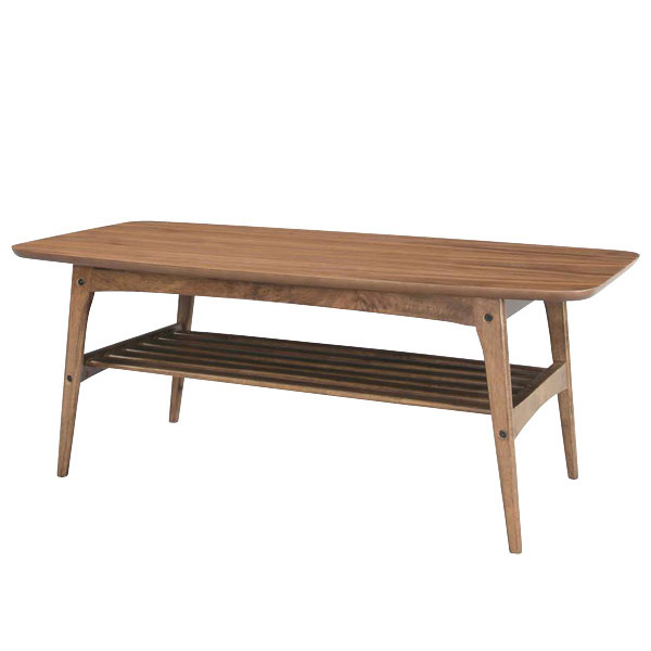 テーブル 【Nordic ノルディック NOR-822WAL コーヒーテーブルL】