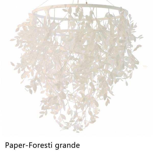 【受注生産】ペンダントランプ ライト ランプ 【Paper-Foresti grande ペーパーフォレスティ グランデ LP2360WH】 照明 家庭用照明
