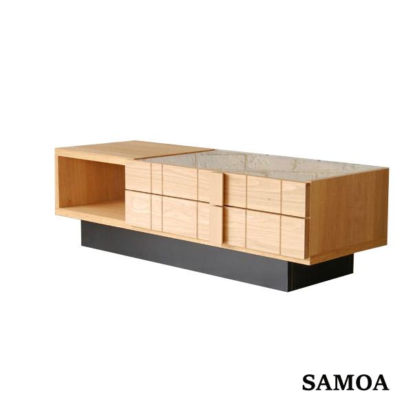SAMOA サモア コレクションテーブル ローテーブル オーク コレクション 収納 シンプル おしゃれ