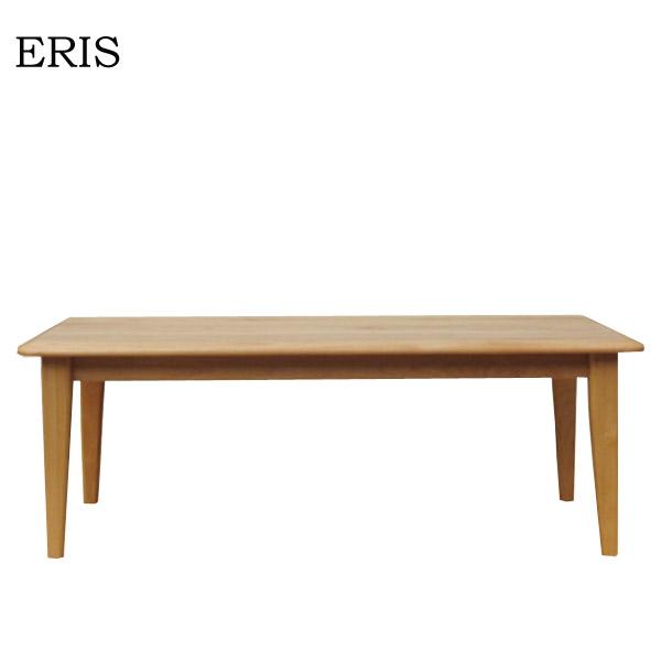 大放出セール エリス 105 センターテーブル NA 机 推奨 テーブル アルダー無垢材 シンプル 棚 おしゃれ 収納棚 木製 リビング