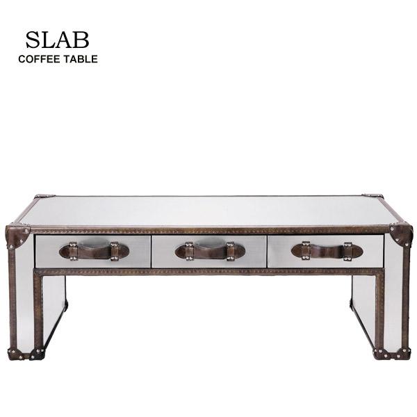 【受注生産】 リビングテーブル ローテーブル HALO(ハロー)【SLAB スラブ コーヒーテーブル】 デザイナ―ズ家具/おしゃれ/ミッドセンチュリー