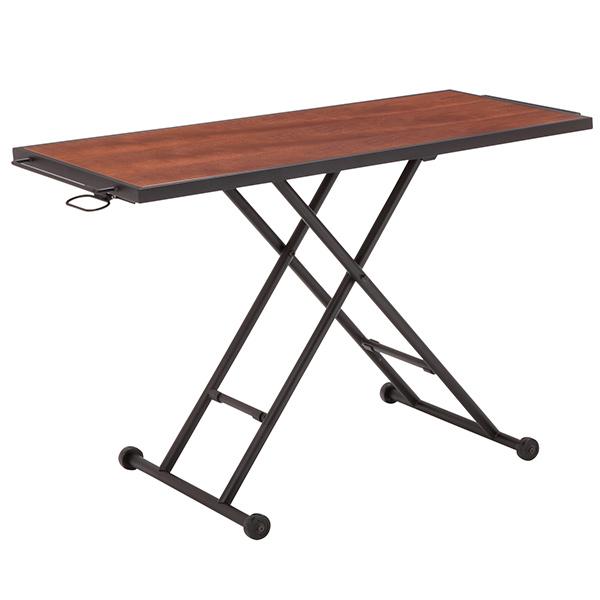 リフティングテーブル 単品 KITE(カイト) (ダークブラウンRLT-4520)(ナチュラルRLT-4526) おしゃれ 北欧