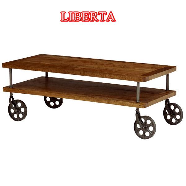 ローテーブル【RT-2939】INDUSTRIAL LIBERTA 幅110 リビングテーブル センターテーブル