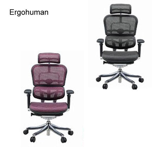 Ergohuman PRO エルゴヒューマン プロ 【EHP-HAM ハイタイプ】 チェアー 椅子 ワーキングチェア