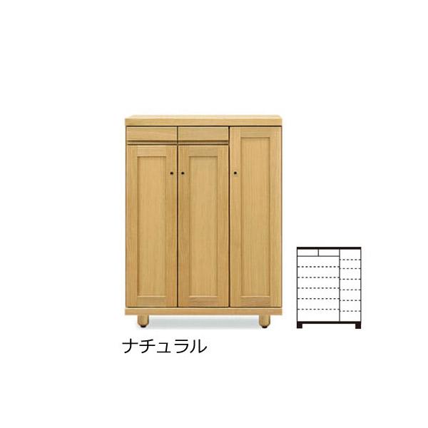 国産 シューズボックス 30L ロータイプ 【 ロコ 】 シリーズ 玄関収納 くつ箱 22足 下駄箱