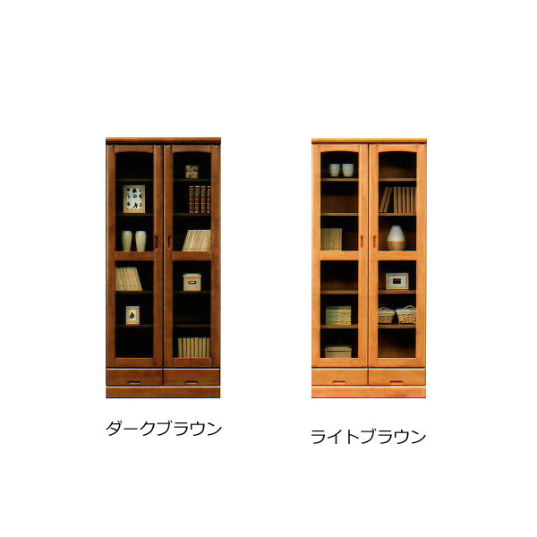 80 書棚 【 フレンド 】 フリーボード 本棚 シェルフ 収納家具 【送料無料】