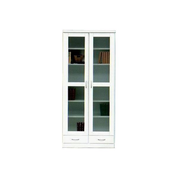 80 書棚 【 タピオカ 】 フリーボード 本棚 シェルフ 収納家具 【送料無料】