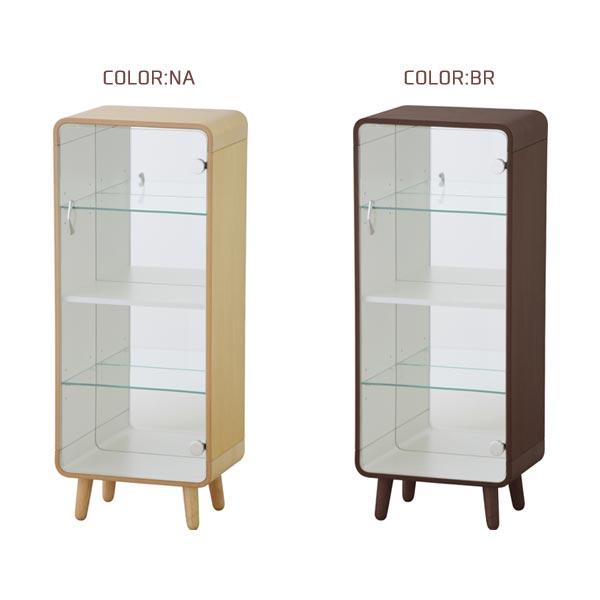 シェルフ 【コレクションシェルフL TP-612】多目的 収納家具 リビング収納 36サイズ カラー2色 BR NA