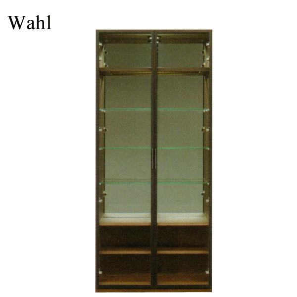 【受注生産】 コレクションボード キャビネット リビングボード ガラス扉 【Wahl ヴァール Collection 80コレクション】【送料無料】