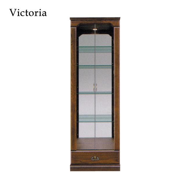 【受注生産】 コレクションボード キャビネット リビングボード ガラス扉 【Victoria ビクトリア Collection Board 60コレクション】【送料無料】