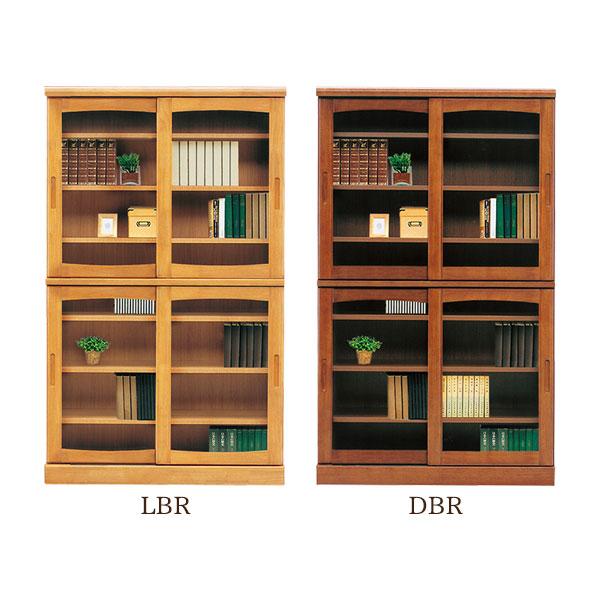 本棚 【フレンド 105 スライド書棚】幅105cm 木製