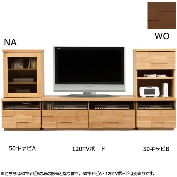 キャビネット【アングル 50キャビB】リビング収納 飾り棚