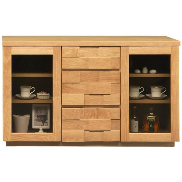 キャビネット【アングル 120サイドボード】リビング収納 飾り棚