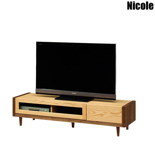 TVボード 【二コル 153 TVボード Nicole】テレビボード/テレビ台/ローボード/リビング収納/国産/日本製