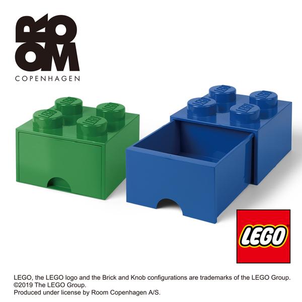 代引不可 レゴ LEGO かわいい 小物入れ 小物収納 おもちゃ箱 フォー おしゃれ ブリックドロワー 受賞店 ☆送料無料☆ 当日発送可能 ストレージ STORAGE 4005