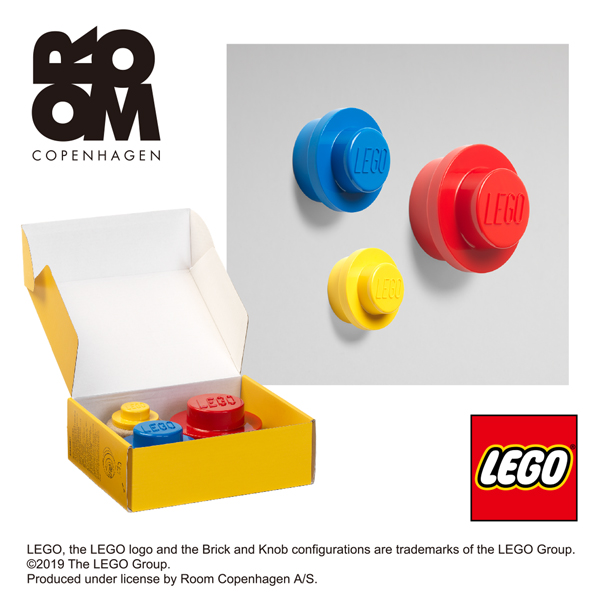 代引不可 レゴ LEGO かわいい ウォールハンガー ハンガー掛け 捧呈 セット おしゃれ 4016 3色セット ハンガーかけ 送料無料(一部地域を除く) 壁掛け