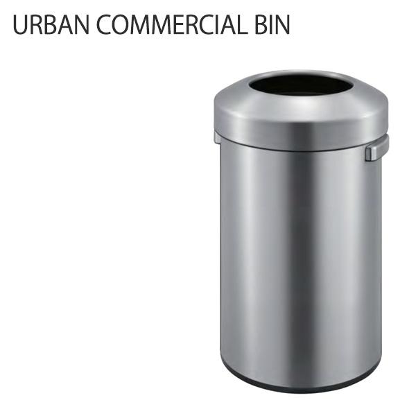 ゴミ箱 ステンレス おしゃれ キッチン収納 ダストボックス (アーバンコマーシャルビン EK9055-50L) サイドハンドルで持ち運びしやすい