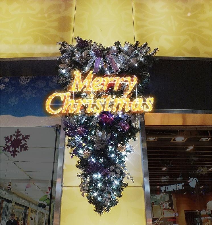 クリスマス(小)LEDクリスタルグロー【イルミネーション ライト 飾り デコレーション 電飾 オブジェ アンティーク おしゃれ かわいい クリスマス】グッズ LED ディスプレイ