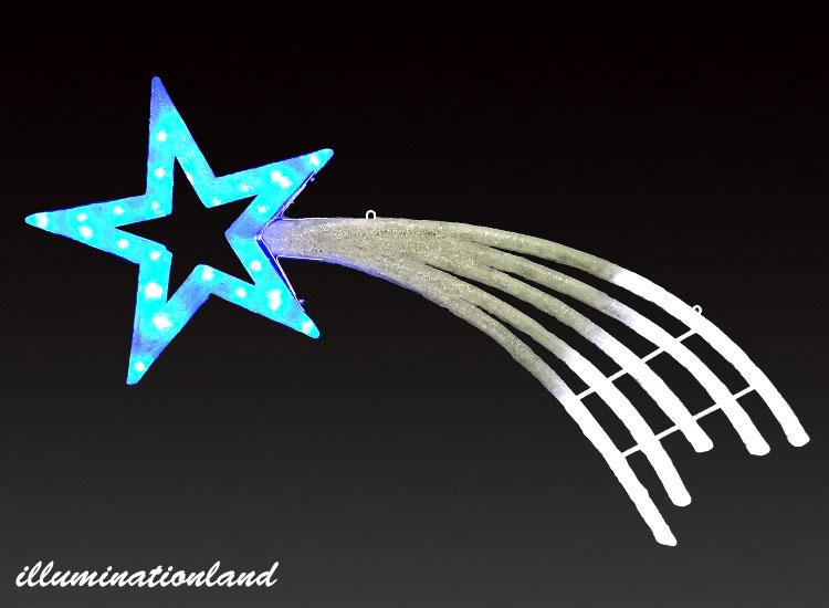 シューティングスター 大 LEDクリスタルグロー【イルミネーション ライト 飾り デコレーション 電飾 オブジェ アンティーク おしゃれ かわいい】グッズ LED ディスプレイ