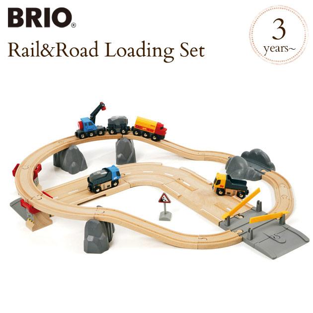 BRIO WORLD(ブリオ) レール&ロード採石セット 33210 BRIO railway toy wood toy