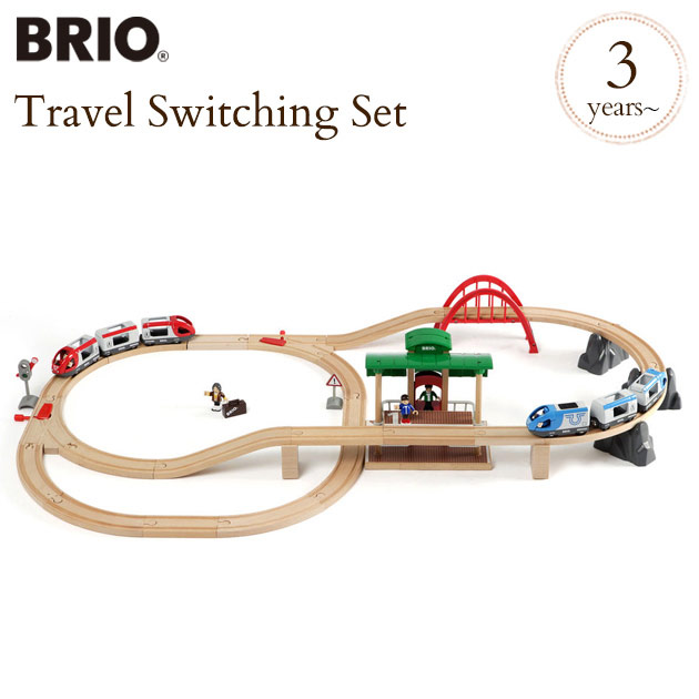 【WEB限定】 ブリオ トラベルレールセット 33512 BRIO railway toy 33512 wood toy railway toy 木のおもちゃ 木製玩具 ウッドトイ, シブヤク:b9467ec4 --- konecti.dominiotemporario.com