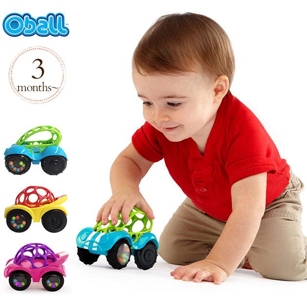 赤ちゃんでも握りやすい ラトルとミニカーを一緒に楽しめるオーボールのくるまのおもちゃ メーカー公式ショップ スーパーSALE限定 ラトル ガラガラ 車 ラトルロール プルトイ おもちゃ おうち時間 大規模セール オーボール