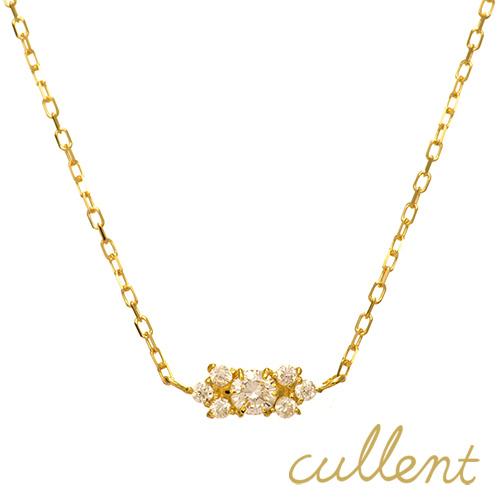 【他商品との同梱不可】 カレン K18 ダイヤモンドネックレス fair K18 diamond necklace fair 18金 18k ネックレス ペンダント アンティーク