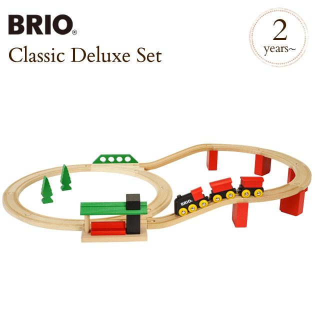 BRIO(ブリオ) クラシックDXレールセット 33424