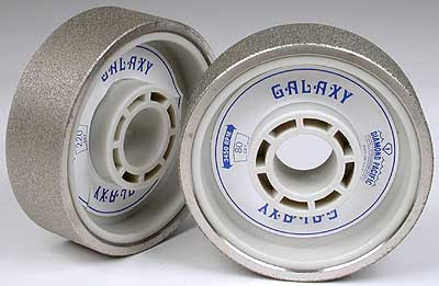 *Polishing wheel for Lapidary天然石研磨機用 ホイール #...80: Diamond grinding wheel