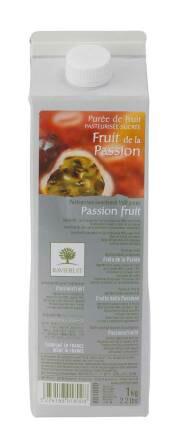 出色 冷蔵 フルーツピューレ 製菓材料用 超歓迎された 業務用 ☆ 1kg ラビフリュイ社 パッションフルーツ