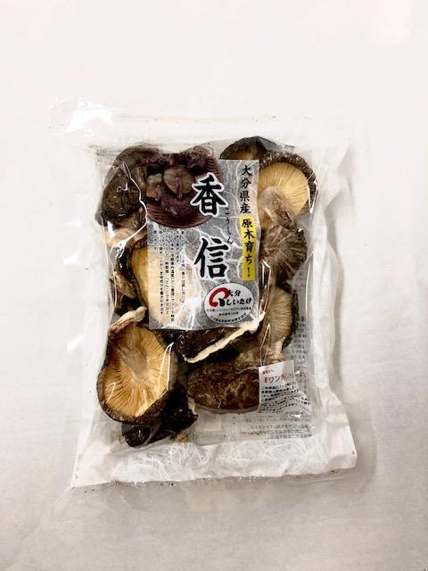しいたけ 香信椎茸 大分県産 原木栽培 【ルネサンスごはん】こうしん 干し椎茸 60g