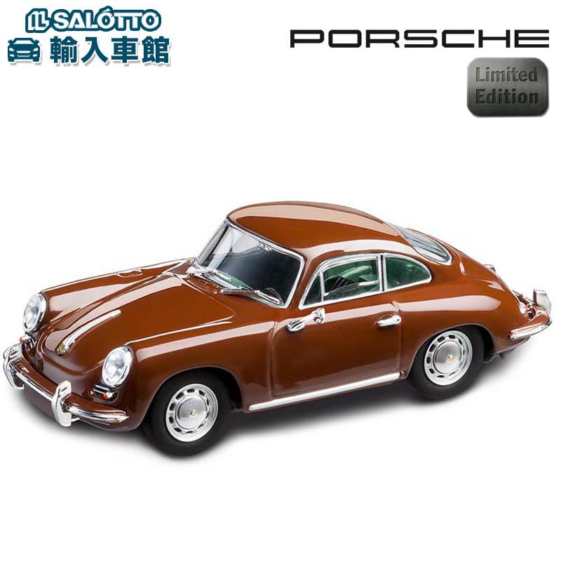 【 ポルシェ 純正 】 モデルカー 356 クーペ 1963 世界限定販売1963個 タゴブラウン スケール 1:43 356C型 356B型 クラシック ClassicMinichamps社又はSPARK社製 ミニカー トイカー Porsche Design