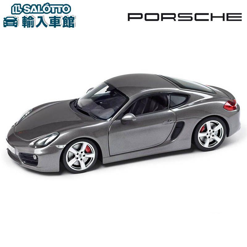 【 ポルシェ 純正 】 モデルカー ケイマンS スケール 1:18 CAYMANMinichamps社又はSPARK社製 ミニカー トイカー Porsche Design