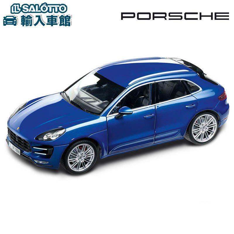 【 ポルシェ 純正 】 モデルカー マカン ターボ スケール 1:18 MACAN TURBOMinichamps社又はSPARK社製 ミニカー トイカー Porsche Design