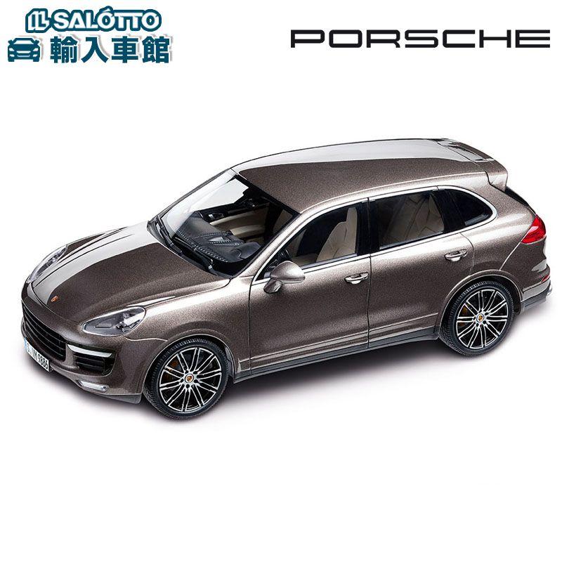 【 ポルシェ 純正 】 モデルカー カイエン ターボ スケール 1:18 CAYENNE TURBOMinichamps社又はSPARK社製 ミニカー トイカー Porsche Design
